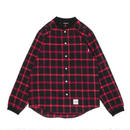 【KIKSTYO】RIB CHECK SHIRTS[RED]