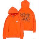 【APPLEBUM】【YO! MTV RAPS Collaboration】 Sweat Parka [Orange]