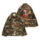 "【APPLEBUM】PLAY for APPLEBUM '""SEXy girl"" LOVE Military Camo Jacket"