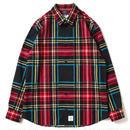 【APPLEBUM】Jacquard Check Shirt [Black]