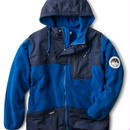 【INTEBREED】SWITCHING FLEECE JACKET(BLUE)