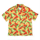 "【APPLEBUM】""Banana"" Aloha Shirt [Red]"