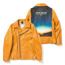 "【APPLEBUM】""Summer Madness"" Leather Riders Jacket"