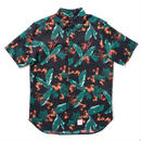 """【APPLEBUM】""""Tony Montana"""" Fly Front SS Shirt [Navy]"""