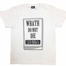 """Book/WRATH"" tee (WHT)"