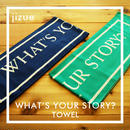 jizue - What's Your Story?マフラータオル