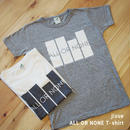 jizue - ALL OR NONE T-SHIRT