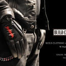 BUILD CLOTHING × PEACE MAKER W-Name Leather Gloves