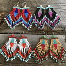 inverted triangle fringe pierce