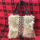 mofu mofu toto bag(pink )