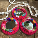 beads mirror