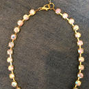 Aurora stone gold chain necklace/ bracelet