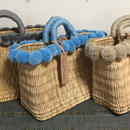 French basket PomPom basket