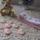 ピンクのボタン計10個セット