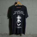 【Sale Item】BYM&P Tall Tee【セミロング丈】(ブラック)