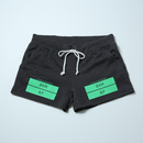 "【Sale Item】BYM&P Sweat Shorts ""Women"" (Heather Black / M)"