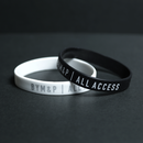 【Sale Item】BYM&P Silicone Wristband Set (Black, White)