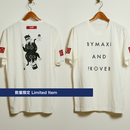 【Sale Item】【4th anniv. item】BYM&P x BLACK INK LABEL Tee (専用ケース&ステッカー2種) *数量限定