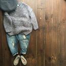Wynken   slouch knit jumper(ice blue)