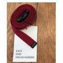 EAST END HIGLANDERS  Belt(wine red)