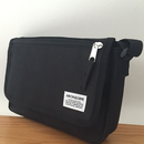 ARCH&LINE MESSENGER BAG(BLACK)