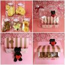 ネコのお家BOXにネコと肉球の焼き菓子5種類詰め合わせ♪(=^・^=)