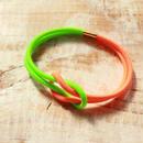 Hand to Hand -Neon Green×Neon Orange-