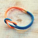 Hand to Hand -Neon Orange×Neon Blue-