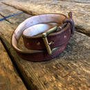 Dutch Leather Company / belt (Rusted)