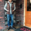 ORTEGA'S / VEST   (BROWN36インチ)