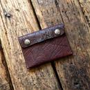 Dutch Leather Company × Japanese Silver Smith MASAYOSHI clutch bag(S)