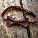 Dutch Leather Company × Japanese Silver Smith MASAYOSHI bow tie