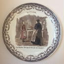 19世紀 サルグミンヌ おしゃべりなお皿 スポーツ 自転車