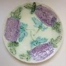 19世紀 バルボティーヌ プレート 紫陽花モチーフ