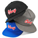 OBEY259 OBEY LANEY SNAPBACK CAP STEEL、BLACK、COBALT オベイ レニー スナップバック キャップ スティール、ブラック、コバルト