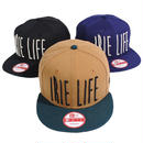 IL162 IRIE LIFE × NEWERA アイリーライフ × ニューエラ アイリー OG ロゴ 9フィフティー スナップバックキャップ ブラック、ネイビー、カーキ