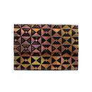 フラットバイヤーズバッグ(iPadケース) オリガミブラック&オレンジ【Flat Buyer's Bag(Origami)】