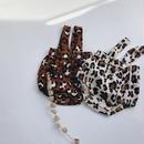 Baby★leopard short salopette