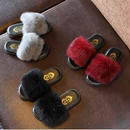 【予約】kids★fur sandal