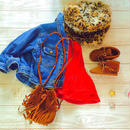kids★再再再再再再入荷!!fringe Bohemian shoulder bag