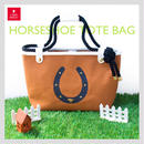 HORSESHOE TOTE BAG