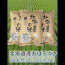 平成29年 北海道産 おぼろづき セット(5kg×3袋)15kg