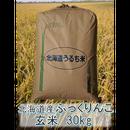平成29年 北海道産 ふっくりんこ 一等米 玄米30kg