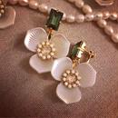 Perle de Fleur Orchid イヤリング/ピアス