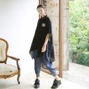 bed side drama / 羽衣ポンチョシャツ /  BSD17SS-25