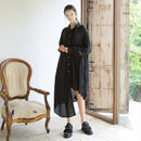 bed side drama / かけ違いのシャツドレス / BSD17SS-24