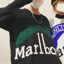 marlboroニット  black