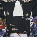 模様がとってもかわいい黒羽織