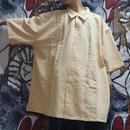 超OVERSIZEオープンカラーシャツ (yellow)