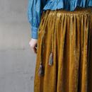 Tabrik タブリク /  Skirt with tasselタッセル スカート / ta-18043